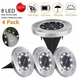Solární zahradní LED světla - 4 ks