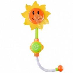 Pestrobarevná sprcha v podobě slunečnice