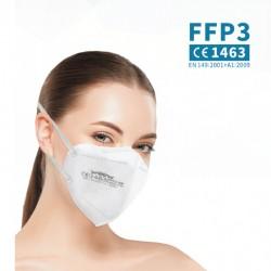 Filtrační maska třídy 3 NR - 1 ks - bílá - WOOW
