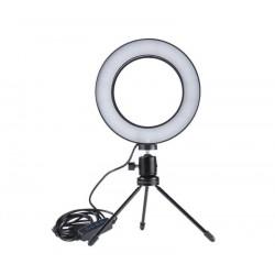 Prstencová LED lampa pro youtubery a streamery