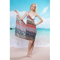 Plážové šaty - barevné [2254]