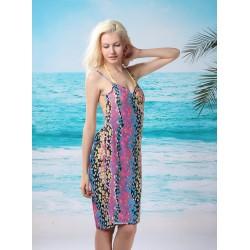 Plážové šaty - barevné [2255]