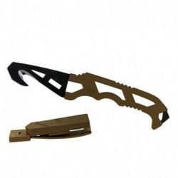Záchranářský nůž Crisis Hook Knife TAN499 - Gerber