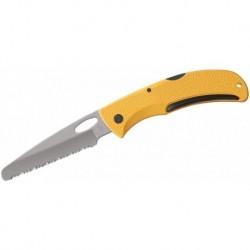 Zavírací záchranářský nůž E-Z Out Rescue - zubaté ostří - žlutý - Gerber