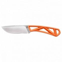 Nůž s pevnou čepelí Exo-Mod - Drop point - hladké ostří - oranžový - Gerber