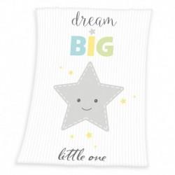 Dětská fleecová deka - Hvězdička - 100 x 75 cm - Herding
