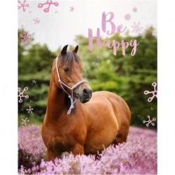 Deka z mikroflanelu - Kůň - 150 x 120 cm - Jerry Fabrics