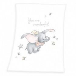 Dětská fleecová deka - Dumbo - 100 x 75 cm - Herding