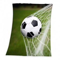 Fleecová deka - Fotbal - 160 x 130 cm - Herding