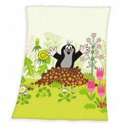 Dětská fleecová deka - Krteček - 100 x 75 cm - Herding