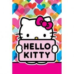 Dětský ručník - Hello Kitty - 60 x 40 cm - Detexpol