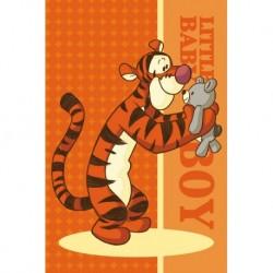 Dětský ručník - Medvídek Pú - Tygr s plyšákem - 60 x 40 cm - Faro