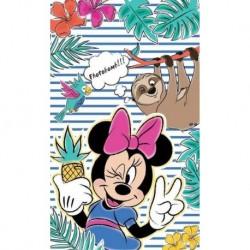 Dětský ručník - Minnie a lenochod - 50 x 30 cm - Detexpol