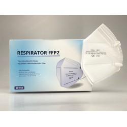 Respirátor FFP2 NR Zhishan 10217 - 1 ks - bílý