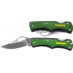 Kapesní nůž Small Lockback - zelený - Lansky