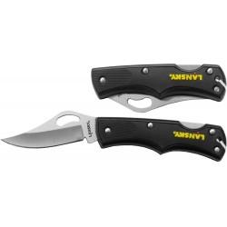 Kapesní nůž Small Lockback - černý - Lansky