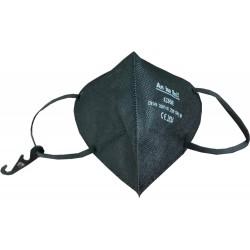 Respirátor FFP2 NR (CE) - 1 ks - černý - An Ke Lin