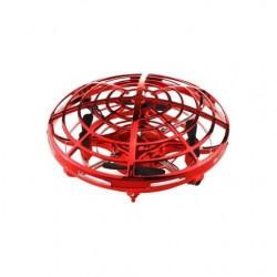 Létající UFO dron - červený
