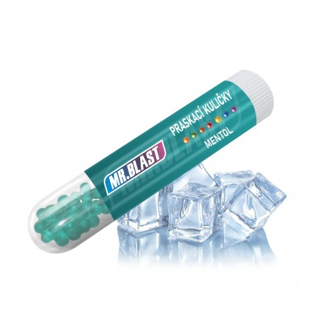 Praskací kuličky Mr. Blast - Mentol - 100 ks
