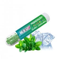 Praskací kuličky Mr. Blast - Ice mint - Ledová máta - 50 ks