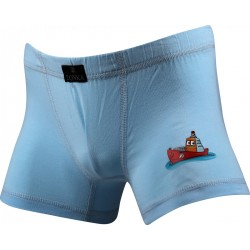 Chlapecké boxerky Dingo - světle modré - Lonka