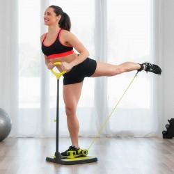 Fitness plošina na posilování hýždí a nohou + návod na cvičení - InnovaGoods