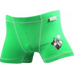 Chlapecké boxerky KR 003 - zelené - Boma