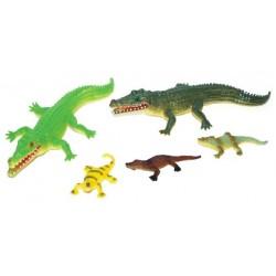 Krokodýli - 5 kusů - Rappa