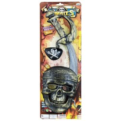 Pirátská sada s maskou - Rappa