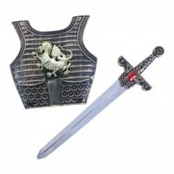 Rytířský meč se štítem - Rappa