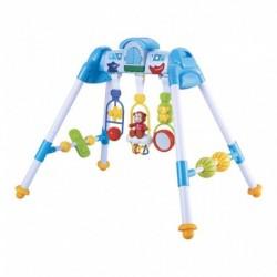 Dětská hrající vzdělávací hrazdička - modrá - Bayo