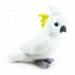 Plyšový papoušek kakadu - 17 cm - Rappa
