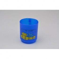 Plastový hrníček - 2,5 dl - modrý s medvídkama - TVAR