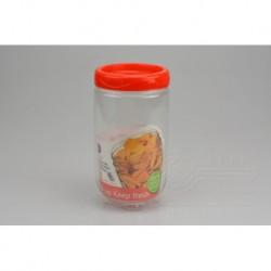 Plastová nádoba na uskladnění potravin - 1 L - 9,5 x 17,5 cm