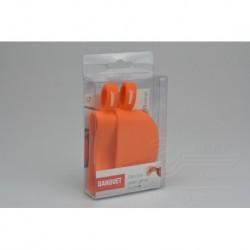 Silikonová chňapka na hrnec - oranžová - 2 ks - Banquet