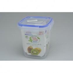 Plastový box na potraviny se silikonovým těsněním - 11 x 10 x 10 cm - 575 ml