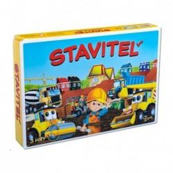 Hra Stavitel - 3 logické hry - Rappa