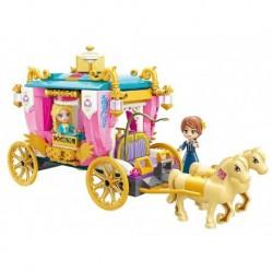 Stavebnice Qman Princess Leah 2614 - Královský kočár - Rappa