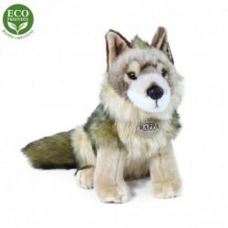 Plyšový kojot - sedící - 24 cm - Rappa