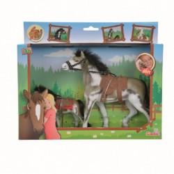Sada koně a hříběte Beauty Pferde - 11 a 19 cm - Simba