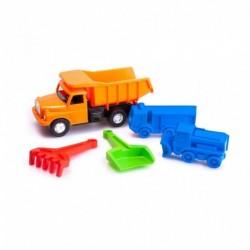 Sada hraček na písek s Tatrou 148 - 5 ks - Dino Toys