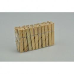 Dřevěné kolíčky na prádlo Home Point - 20 ks