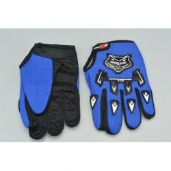 Rukavice na kolo A-02 - velikost M/L - modré