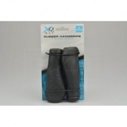 Gumové ergonomické gripy na řídítka - 12,5 x 3 cm - 2 ks - XQ Max