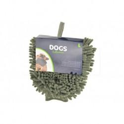 Ručníková rukavice na osušení psů Dogs - 32 x 18 cm