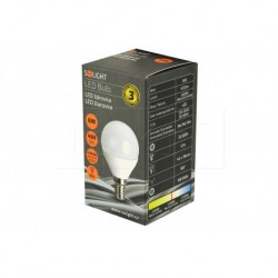 LED žárovka E27 - 6 W 4000K - Solight