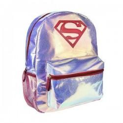 Školní batoh - Superman - růžový