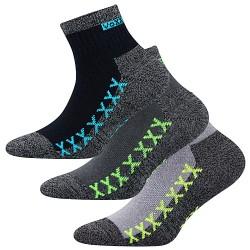 Ponožky Vectorik - mix A - pro chlapce - 3 páry - VoXX
