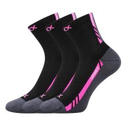 Ponožky Pius - černé II - 3 páry - VoXX