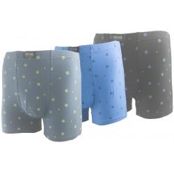 Pánské bavlněné boxerky G55471 - 1 ks - Pesail